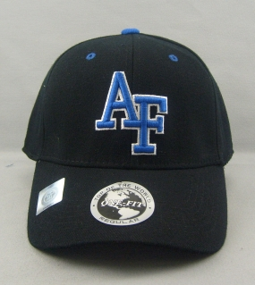 Air Force Falcons Black One Fit Hat