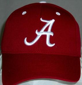 Alabama Crimson Tide Team Color One Fit Hat