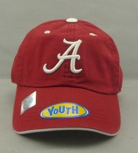 Alabama Crimson Tide Youth Crew Adjustable Hat