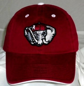 Alabama Crimson Tide Adjustable Crew Hat