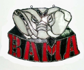 Alabama Crimson Tide Suncatcher