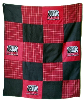 Alabama Crimson Tide Quilt