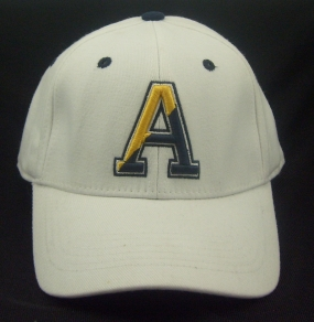 UAlbany Great Danes White One Fit Hat