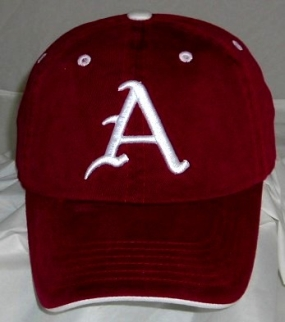 Arkansas Razorbacks Adjustable Crew Hat
