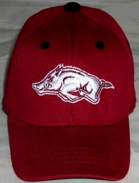 Arkansas Razorbacks Infant One Fit Hat