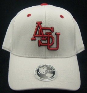 Arkansas State Indians White One Fit Hat