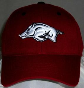 Arkansas Razorbacks Team Color One Fit Hat