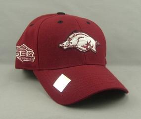 Arkansas Razorbacks Adjustable Hat