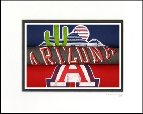 Arizona Wildcats Vintage T-Shirt Sports Art