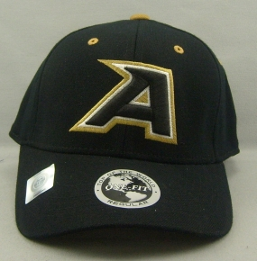 West Point Black Knights Black One Fit Hat
