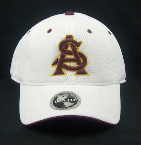 Arizona State Sun Devils White Elite One Fit Hat
