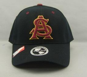 Arizona State Sun Devils Black One Fit Hat