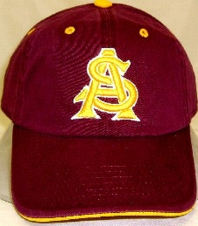 Arizona State Sun Devils Adjustable Crew Hat