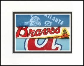 Atlanta Braves Vintage T-Shirt Sports Art
