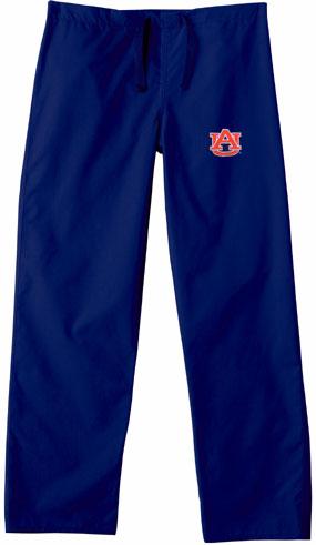 Auburn Tigers Scrub Pants