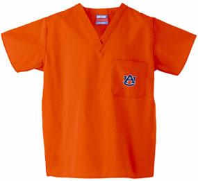Auburn Tigers Scrub Top