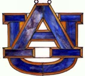 Auburn Tigers Suncatcher