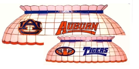 Auburn Tigers Pool Table Light