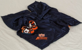 Auburn Tigers Baby Blanket and Slippers