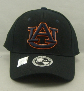 Auburn Tigers Black One Fit Hat