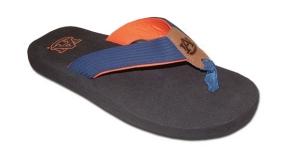 Auburn Tigers Flip Flop Sandals