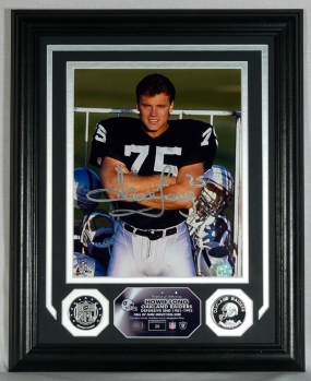 "HOWIE LONG ""AUTOGRAPHED"" PHOTOMINT"