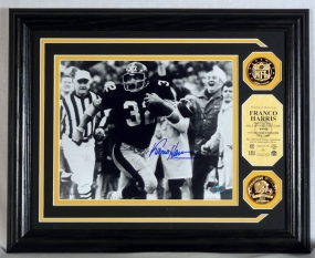 "FRANCO HARRIS ""AUTOGRAPHED"" PHOTOMINT"