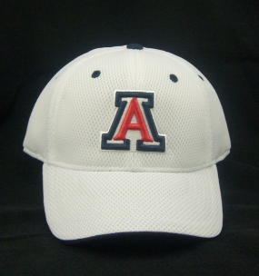 Arizona Wildcats White Elite One Fit Hat