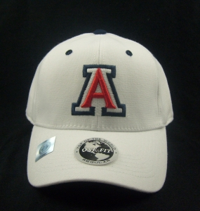 Arizona Wildcats White One Fit Hat