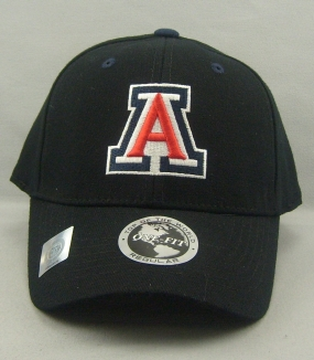 Arizona Wildcats Black One Fit Hat