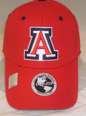 Arizona Wildcats Team Color One Fit Hat