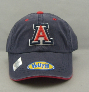 Arizona Wildcats Youth Crew Adjustable Hat