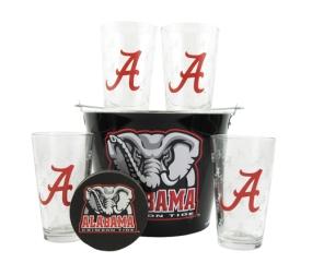 Alabama Crimson Tide Gift Bucket Set