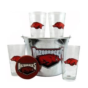Arkansas Razorbacks Gift Bucket Set