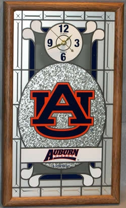Auburn Tigers Wall Clock