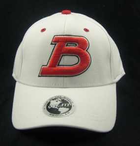 Ball State Cardinals White One Fit Hat