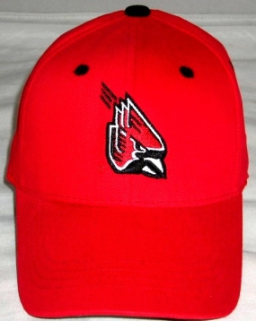 Ball State Cardinals Youth Team Color One Fit Hat