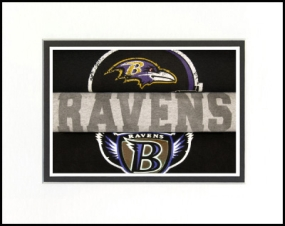 Baltimore Ravens Vintage T-Shirt Sports Art