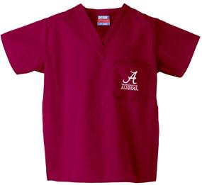 Alabama Crimson Tide Scrub Top