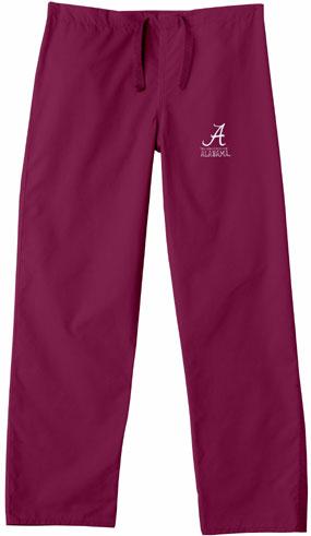 Alabama Crimson Tide Scrub Pants