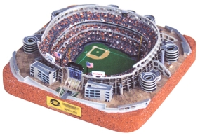 QUALCOMM STADIUM REPLICA BASEBALL FIELD CONFIGURATION