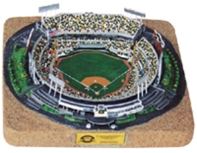 NETWORK ASSOCIATES STADIUM REPLICA BASEBALL FIELD CONFIGURATION