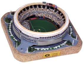 THREE RIVERS STADIUM REPLICA BASBALL FIELD CONFIGURATION