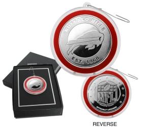 Buffalo Bills Silver Coin Ornament