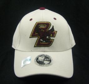 Boston College Eagles White One Fit Hat