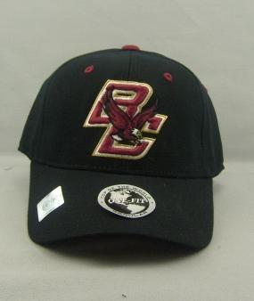 Boston College Eagles Black One Fit Hat