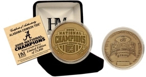 Alabama Crimson Tide Antique Bronze BCS National Champions Commemorative Coin