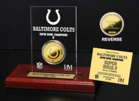 Baltimore Colts SB Champs Etched Acrylic