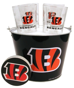 Cincinnati Bengals Gift Bucket Set