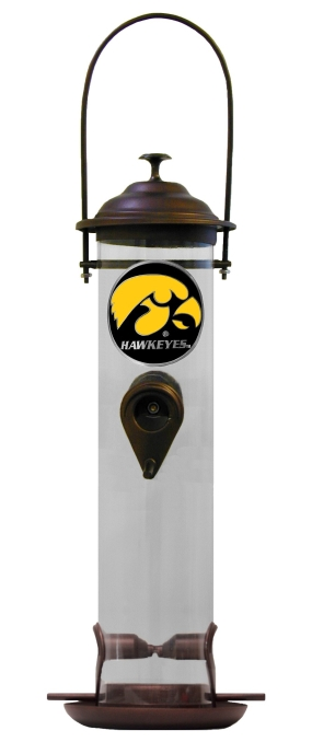 Iowa Hawkeyes Bird Feeder